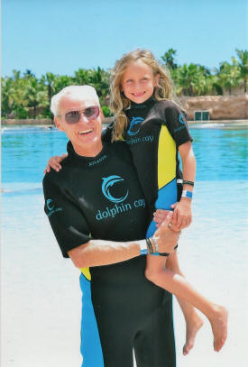 Dennis Knick-owner-with grand daughter Jessa Dickerson
